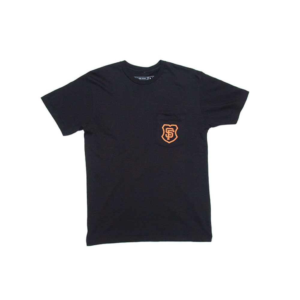 MASH SF POCKET TEE BLACK